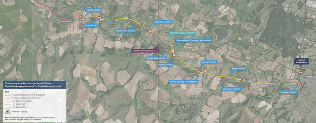A27 East of Lewes - Proposed pedestrian and cycle path